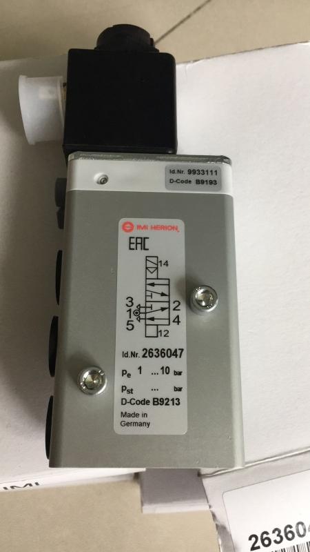 HERION电磁阀 9601544结构分类