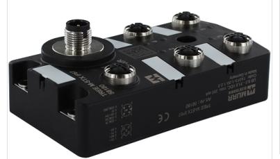 MURR的5端口管理型交换机尺寸图