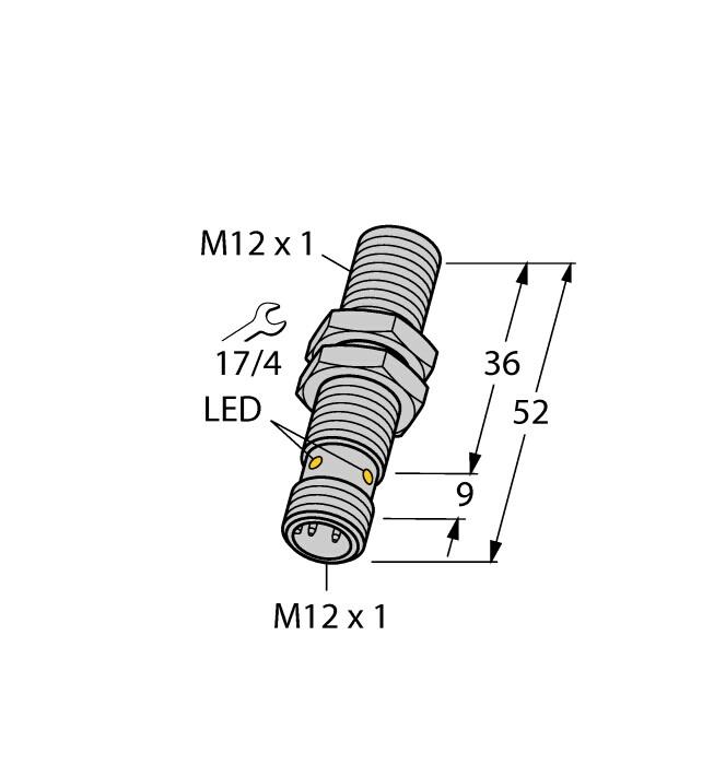 RSSW-RKSW451-1M,TURCK总线电缆,材质好