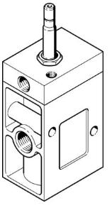 费斯托FESTO电磁阀MOCH-3-1/2结构特点分析