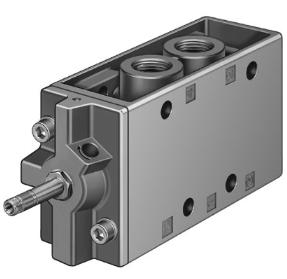 费斯托FESTO电磁阀MFH-5-1/2-EX常见故障