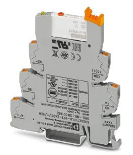 PHOENIX继电器PLC-RPT- 24DC/ 1AU/MS/SEN规格