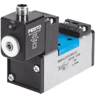 实际用途FESTO电磁阀MDH-5/2-D-1-M12-C