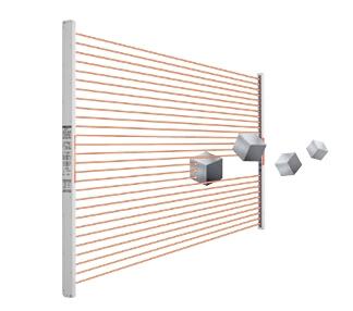 SUNX松下区域传感器检测结果