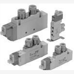中文PDF,SMC先导式5通电磁阀VF5120K-5GD1-03
