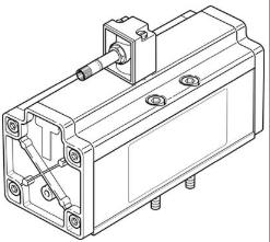 高精度FESTO电磁阀MDH-5/2-3/4-D-4-24DC