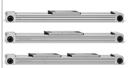 技术说明5E系列无杆电缸/意大利CAMOZZI