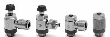 结构形式,CAMOZZI铰接式流量控制阀MVU 704-1/8