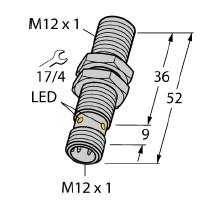 订货NI12U-EG18SK-VN4X,图尔克圆柱形传感器相关参数