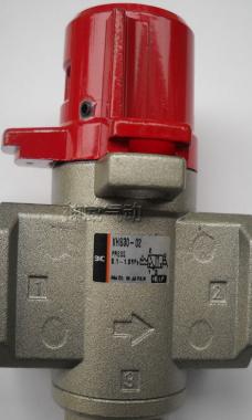VHS400-04手动阀,smc残压释放3通阀的操作模式