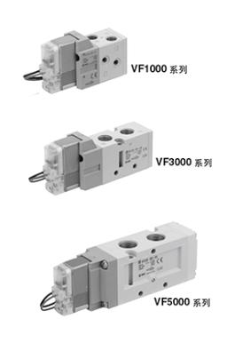 SMC单电控电磁阀的基本特征VQD1121W-5LO-M5-Q