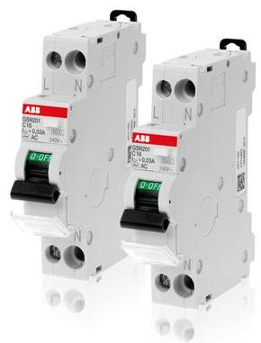 漏电保护模块GDA202 AC-25/0.03,品牌:ABB
