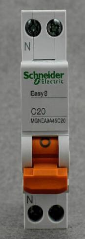MGNEA9A45C20,供货SCHNEIDER小型断路器