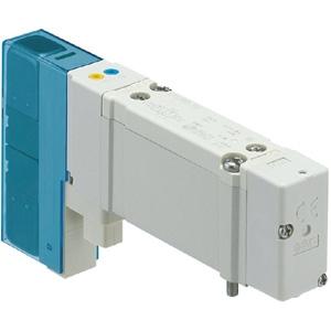SY系列电磁阀直接配管型SY7120-5G-C10,日本SMC原装