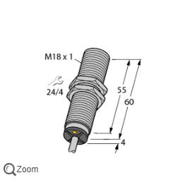 图尔克电感式传感器BI5-M18-LIU模拟量输出型