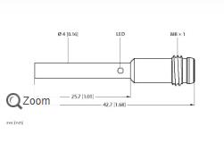 了解TURCK光滑圆柱接近开关BI1-EH04-AP6X 4609540