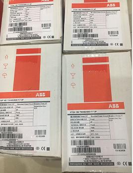 瑞士ABB塑壳断路器XT2H160 TMA100/1000FF3PA