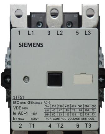 西门子接触器3TB4422-0XM0中文安装要求