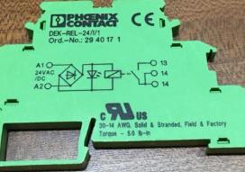 概述PHOENIX继电器模块RIF-2-RPT-LDP-24DC/2X21