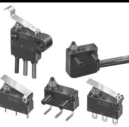 欧姆龙微动开关DZ-10GV2-1B特殊用标准型