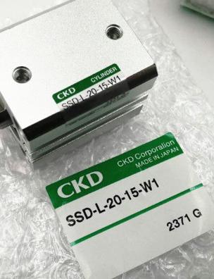 实物CKD超紧凑型气缸SSD2-L-40-50-N-W1
