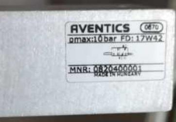 安沃驰AVENTICS机械式空气开关0820400001