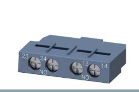 安装步骤siemens西门子3RV2901-1F辅助开关