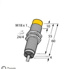 TURCK图尔克NI8-M18-LIU传感器使用步骤
