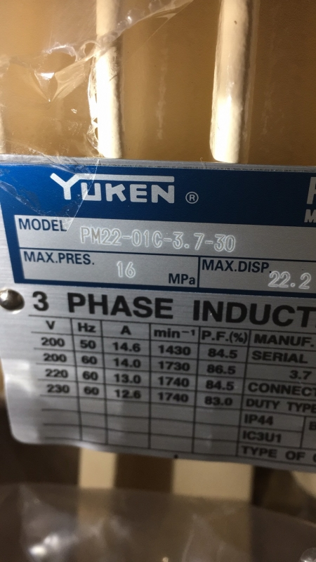 热卖PV2R1-25-F-RAA-4326油研单级叶片泵
