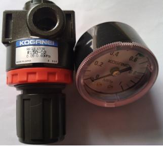 R150-02小金井调压阀,R系列带压力表