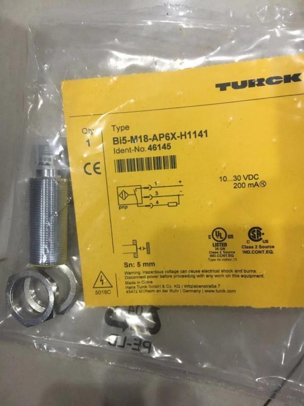 德国TURCK电感式传感器,常用数据