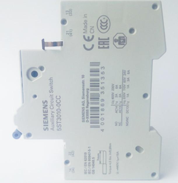 产品说明5SU1354-4KK10西门子漏电开关