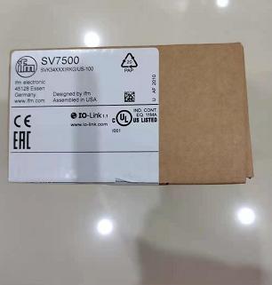 易福门SV7500流量传感器,新到品刚入库