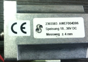 Parker传感器2365583 AWEF004D06现货