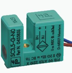 倍加福电感式槽形传感器SC3.5-G-N0外壳材质